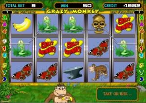 игровой автомат Обезьянки геймплей