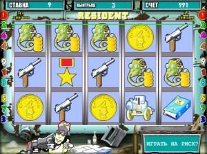 игровой автомат Резидент геймплей