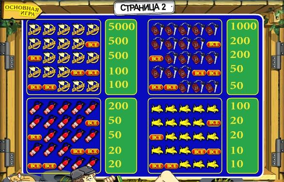 Игровой автомат Гараж специальные символы